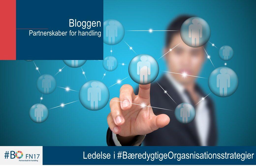 Ledelse i #BæredygtigeOrganisationsstrategier