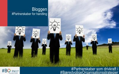 #Partnerskaber som drivkraft i #Bæredygtige organisationstrategier